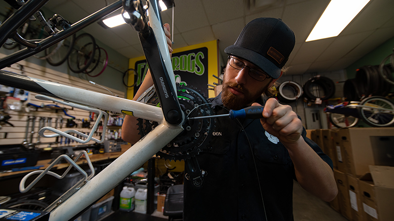 Show your bike some love… even when using a trainer!